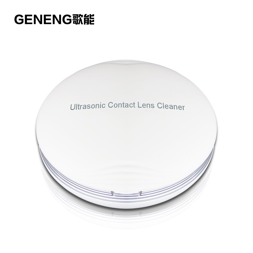 GENENG Ultrasonic Contact Lens Cleaner Mini Portable Electronic Auto Washer Daily Care Fast Vibration Sonic Washing Travel Case Electrical Equipment
