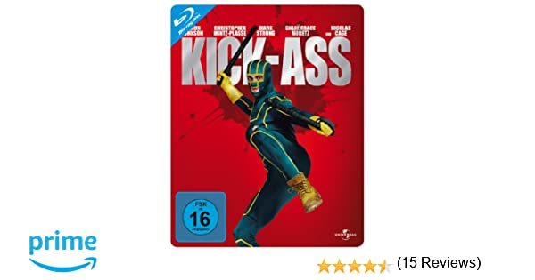 Kick-Ass - Steelbook [Alemania] [Blu-ray]: Amazon.es: Aaron ...