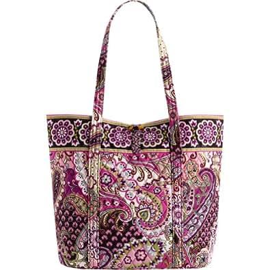 Vera Bradley Vera Bag (Very Berry Paisley)