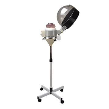 salon hair steamer color drying treatment processor rolling stand conditioning - Hair Color Processor