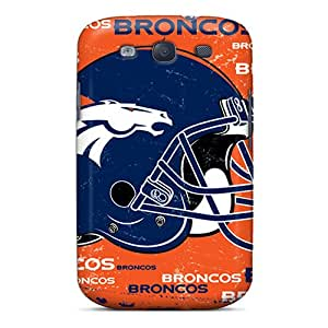 Shock Absorption Hard Cell-phone Case For Samsung Galaxy S3 (wFZ11288nLyQ) Custom High Resolution Denver Broncos Series