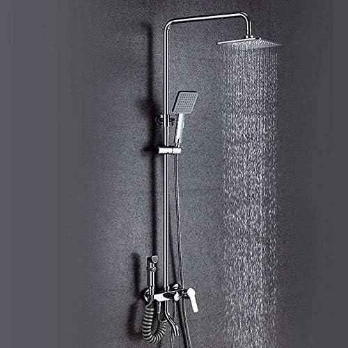 ZGQA-GQA 水栓バス滝の蛇口浴室ミキサータップ浴室の蛇口レインシャワーセットウォールタップシャワー