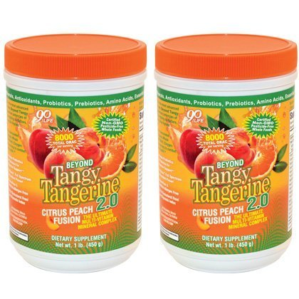 - Beyond Tangy Tangerine 2.0, Citrus Peach Fusion,(Twin Pak) by Youngevity