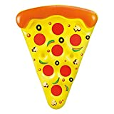 Luftmatratze Pizza Scheibe XXL, 180 cm.