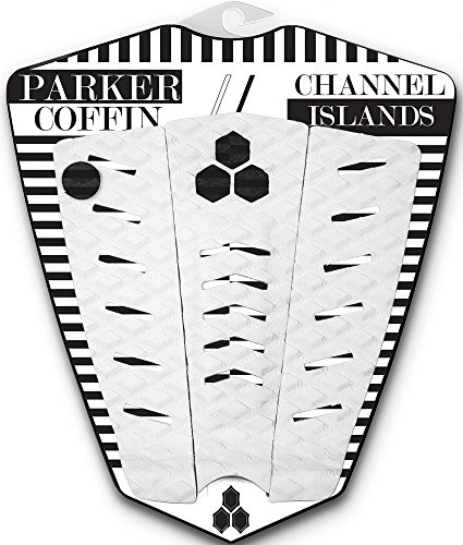 Channel Islands Surfboards Parker Coffin Traction Pad, White, One Size