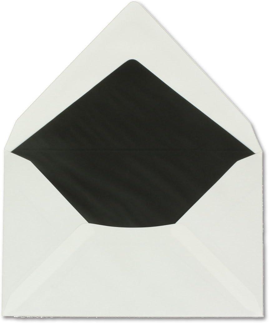 11,4/x 19,5/cm 50/pezzi set biglietti di condoglianze Bianco conCroce Di cordoglio con busta////Doppia copertura////Dimensioni