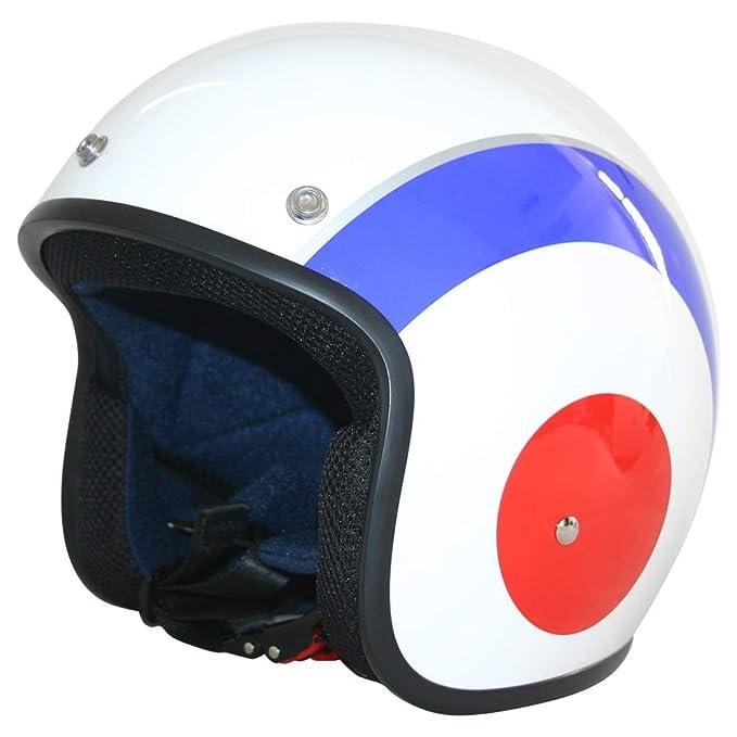 61-62cm Leopard LEO-604 Scooter Motorcycle Motorbike Open Face Crash Helmet Road Legal Black XL