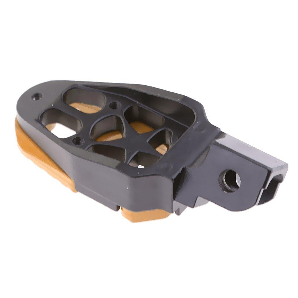MagiDeal Repose-Pieds Universel Avant Arri/ère P/édales Footpeg Moto ATV Cadre Raccord
