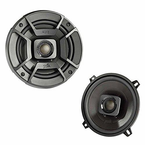 Polk Audio DB522 DB+ Series 5.25' Coaxial Speakers with Marine Certification, Black