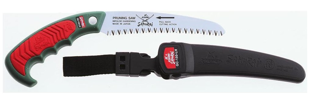 Samurai ICHIBAN GC-180-LH (18cm) Curved Hand Saw + Carrying Case