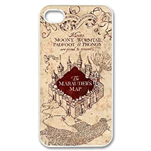 Custom High Quality WUCHAOGUI Phone case The Marauders Map - Harry Potter Case For Apple Iphone 4/4S Case Cover case cover - Case-20