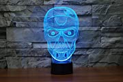 Product Description:   A magic table lamp in your room, A creative gift for your family and friends!   -3D Illusion  Combined high quality acrylic material with exquisite laser machining technology.  Using 3D wire-frame images and transferring them i...