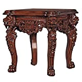 Design Toscano Lord Raffles Grand Hall Lion Leg Side Table Review