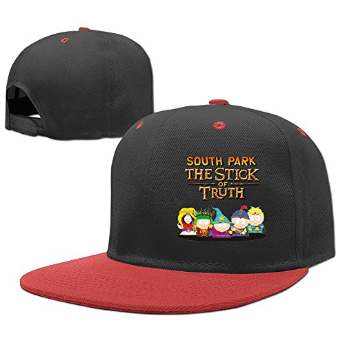 ACMIRAN South Park One Size Pure Cotton Child Baseball Cap Red