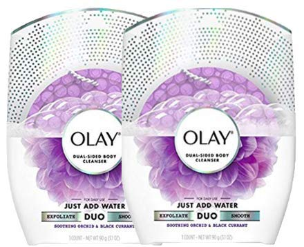 - Olay Body Wash Cleansing And Exfoliating Shower Disk, Orchid & Black Currant (2-(Pack))