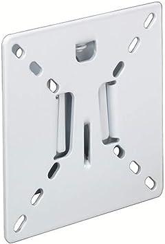 Hama - Slim - Soporte de pared para televisores LCD (VESA 100 x 100), color blanco: Amazon.es: Electrónica