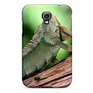 MeSusges Case Cover For Galaxy S4 - Retailer Packaging Chameleon Protective Case
