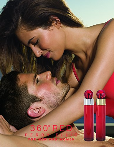 Perry Ellis 360 Red for Men, 3.4 fl oz EDT