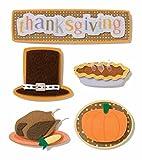 Karen Foster Design Scrapbooking Stacked Sticker, 12 by 12'', Thanksgiving