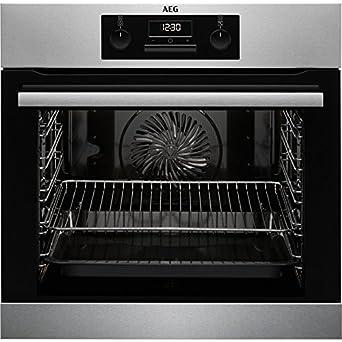 Aeg Beb331010m Einbau Backofen Grillfunktion Display Mit Uhr A