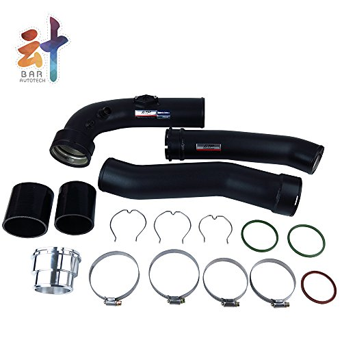 Amazon.com: 🔹 FTP 🔹 Intake Turbo Charge Pipe for BMW 5 Series F10 N20 520i 528i Black Aluminum Combination Packages: Automotive