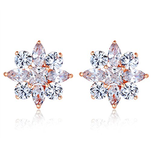 bamoer-fashion-jewelry-rose-gold-plated-crystal-zircon-women-snowflake-style-stud-earrings-for-engag