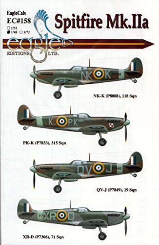 Eagle ECL48158 1:48 Editions Spitfire Mk.IIa [DECAL for sale  Delivered anywhere in USA