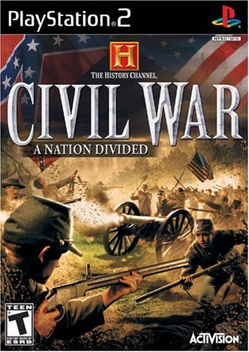 History Channel: Civil War: A Nation Divided - PlayStation 2 from Activision