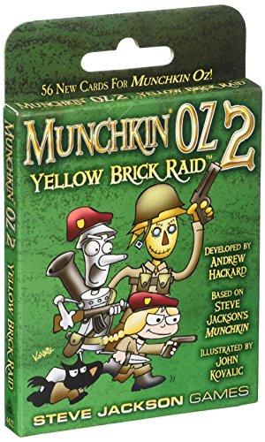 Steve Jackson Games Munchkin Yellow Brick Raid Card Game