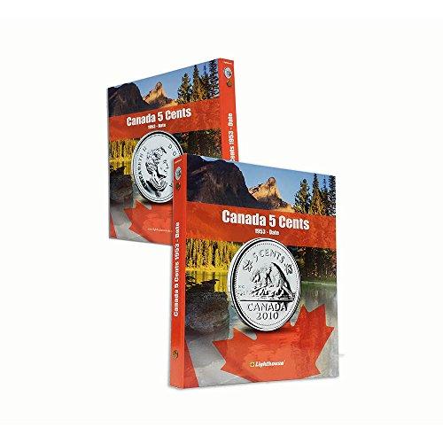 (Lighthouse VISTA Coin Album for Canada 5 Cent, Vol. 2 1953 – Date)