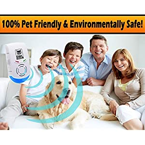 Ultrasonic Pest And Mouse Repeller by Owl Sentinel: Highly Effective Insect, Bug & Rodent Electronic Repellent – Sends Away Mice, Spiders Etc Naturally, Without Odors,Chemicals, Sprays Or Lotions