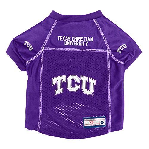 NCAA TCU Horned Frogs Pet Jersey, XS