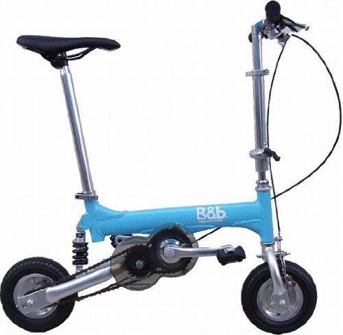 Bag&bike(バッグアンドバイク) 携帯折り畳み自転車 BB07020Bオールアレミフレーム 専用バッグ付き B003PZLWSQ