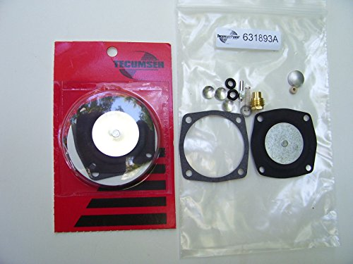 NEW Replacement TORO / TECUMSEH CARB RE-BUILD KIT FOR S200,S620-631893A