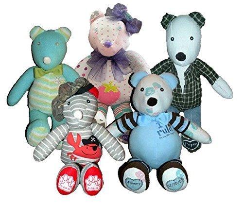 (Handmade Memory Beary Bear Made From Clothing (20