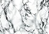 """d-c-fix Self-Adhesive Film, Marble White, 26"""" x 78"""" Roll, 346-8031"""
