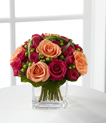 Deep Emotions Rose Bouquet by Better Homes and Gardens - Fresh Flowers Hand Delivered in Albuquerque Area - Admiration Bouquet