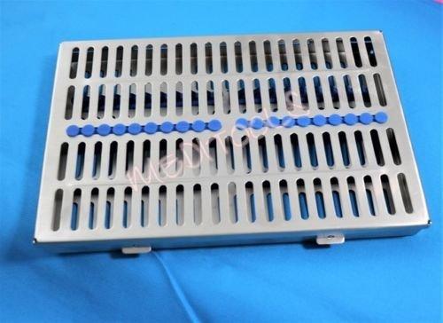 PREMIUM Dental Sterilization Cassette, Autoclave Tray, Rack, Box,20-Instruments