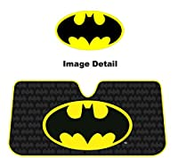 Plasticolor 003713R01 Batman Accordion Sunshade