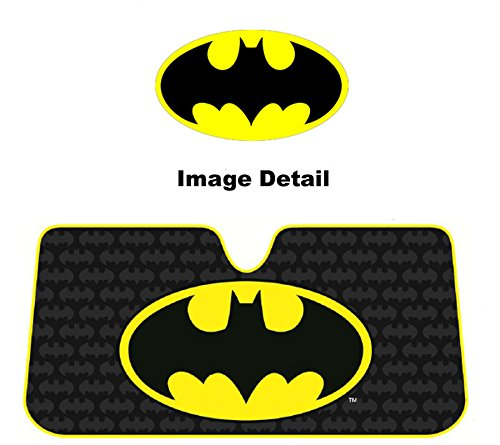 Plasticolor 003713R01 Batman Accordion Sunshade (Batman Car Shade compare prices)