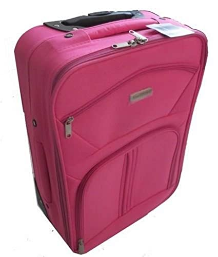 Rose Roulette Cabine Sac Fille Roues Valise Femme Avion Trolley m0vN8ynwO