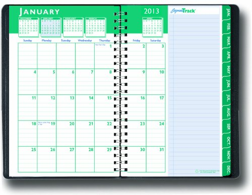 House of Doolittle Express Express Express Track Weekly Monthly Planner 13 Months January 2013 to January 2014, 5x8 Inch, schwarz Cover, Recycled (HOD29402) by House of Doolittle B00829E9S0       Fairer Preis  69d2ce