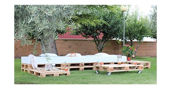 europalet Chillout Modular palets para jardín y terraza: Amazon.es ...