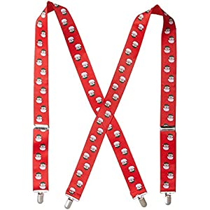 Wembley Men's Holiday Party Suspenders