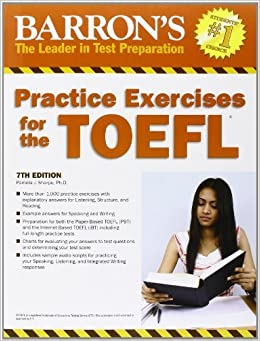 Practice Exercises for the TOEFL (Barron's Practice Exercises for the Toefl) by Sharpe Ph.D., Pamela (2011)