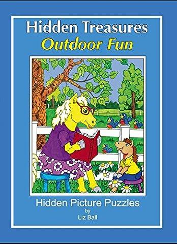 Outdoor Fun - Hidden Treasures: Hidden Picture Puzzles - Treasure Ball