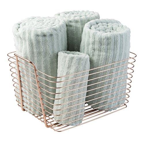 mDesign Storage Organizer Bathroom Products