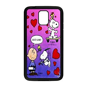 [AinsleyRomo Phone Case] For Samsung Galaxy S5 -Cute Dog Snoopy-Style 13
