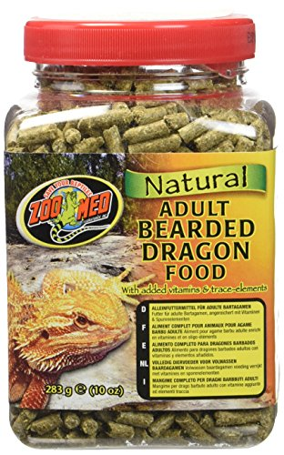 - Zoo Med Laboratories SZMZM76 Beard Dragon Adult Soft-Moist Pellet, 10-Ounce