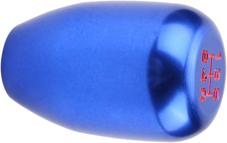 Lila Schaltkn/äufe,Fydun 5 Gang Auto Schaltknauf Schalthebel Stick mit 3 Adaptern 8mm//10 mm// 12mm Auto Innenausstattung